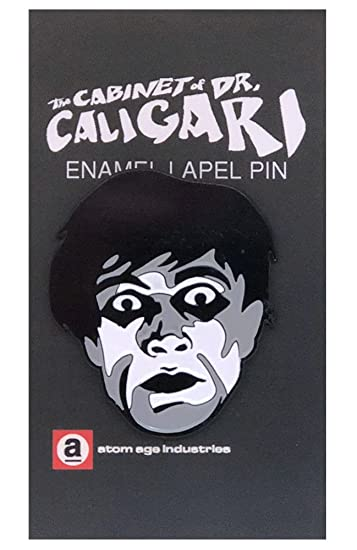 Amazon Com The Cabinet Of Dr Caligari Cesare Face Enamel Pin Clothing