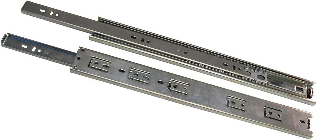 Knape /& Vogt  18 in L Soft Close  Drawer Slide  1 pair