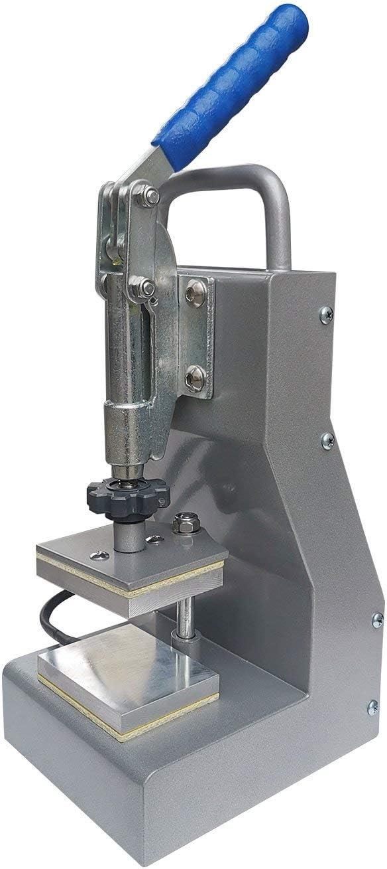Precise Two-Channel Control Panel Portable Bonus Accessories Efficient - 2.5 x 3 Dual Heat Plates Sturdy Dulytek DM800 Manual Heat Press Machine