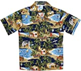 RJC Boys Shave Ice Shack Shirt in Navy Blue - 8