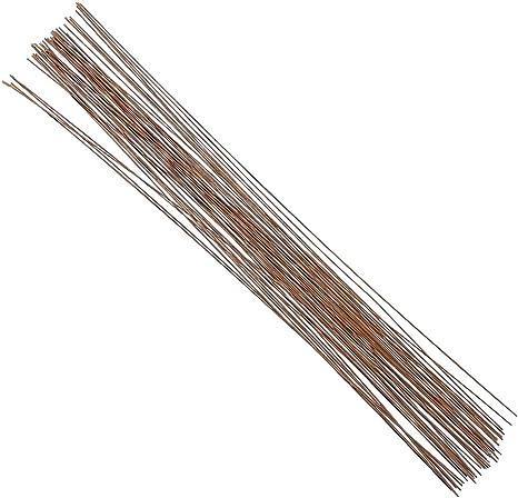 Decora 26 Gauge Black Floral Wire 16 inch,50//Package