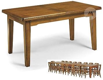Table En Bois 8 Pieds Extensible A 16 Couverts 360 X 100 Cm Art