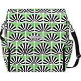 Petunia Pickle Bottom Boxy Backpack Diaper Bag in Playful Palm Springs