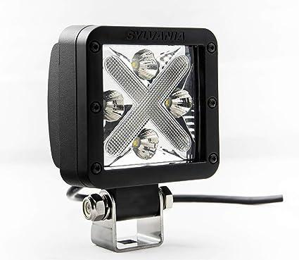 SYLVANIA - Cube-X Spot/Flood Combo LED Off Road Light - 10 Degree