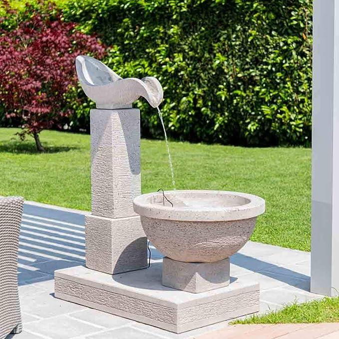 Wanda collection Fuente de jardín Cascada 120 cm: Amazon.es: Jardín
