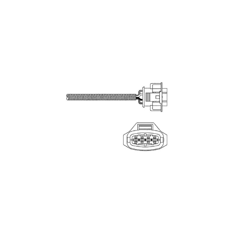 Delphi ES20314-12B1 Sonde doxygne des gaz dchappement