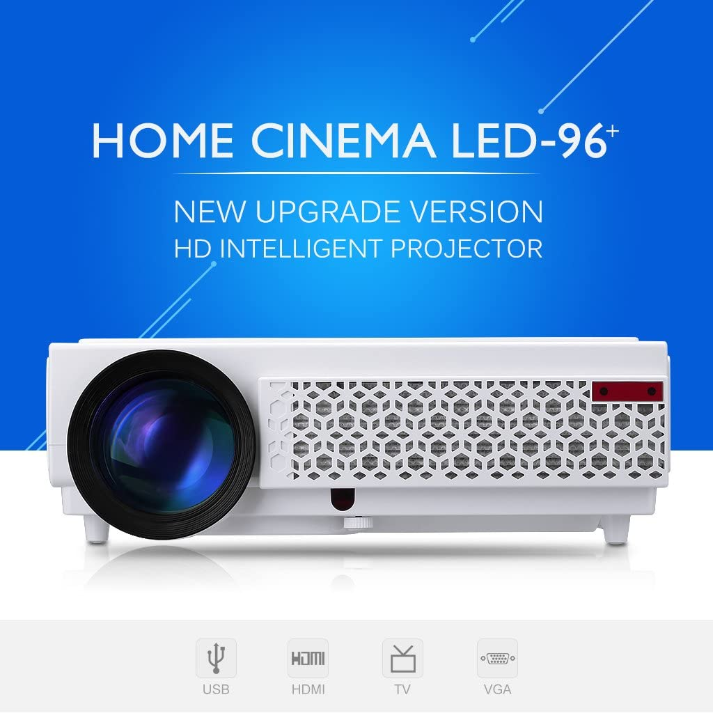 Excelvan – LED 96 + LED Proyector 1280 x 800 resolución 2500 ...