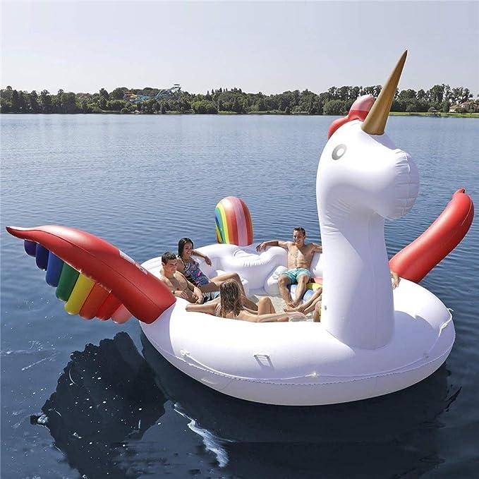 WXH Flotador del Unicornio de la Isla de los pájaros ...