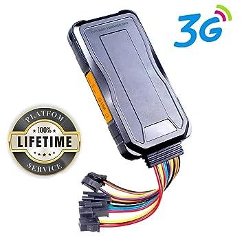 Localizador GPS, Toptellite 3G GPS Tracker Tiempo Real Rastreo GPS de Automóvil en Localización y Monitoreo Precisos de GPS Gestión de ...