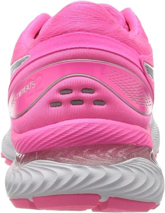 ASICS Damen Gel Nimbus 22 Running Shoe, Pink