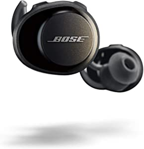 Bose SoundSport Free, True Wireless Sport Headphones, (Sweatproof Bluetooth Headphones for Workouts), Black