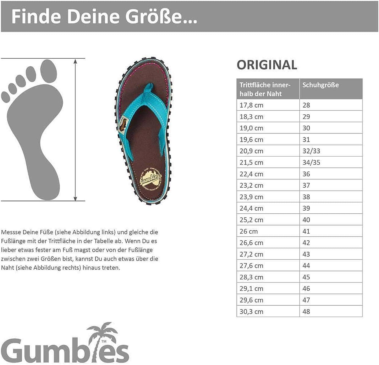 Gr/ö/ße 43 Gumbies 3106 Herren Pantolette