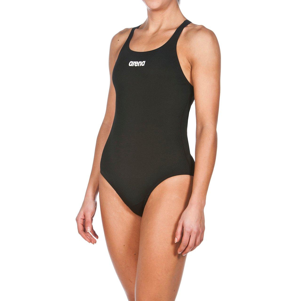 Arena W Solid Swim PRO, Costume da Bagno Donna