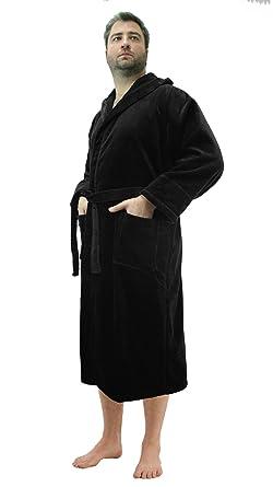 0026a2c154 Robesale Women s Cotton Velour Hooded Bathrobes