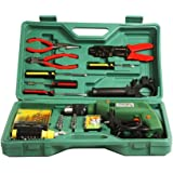 Janvitha Iron Impact Tool 10 mm 500 W Corded Drill Kit (Multicolour)