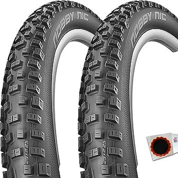 2x Schwalbe Reifen NOBBY NIC SnakeSkin TLE Falt Addix Speedgrip 27,5x2,35 60-584