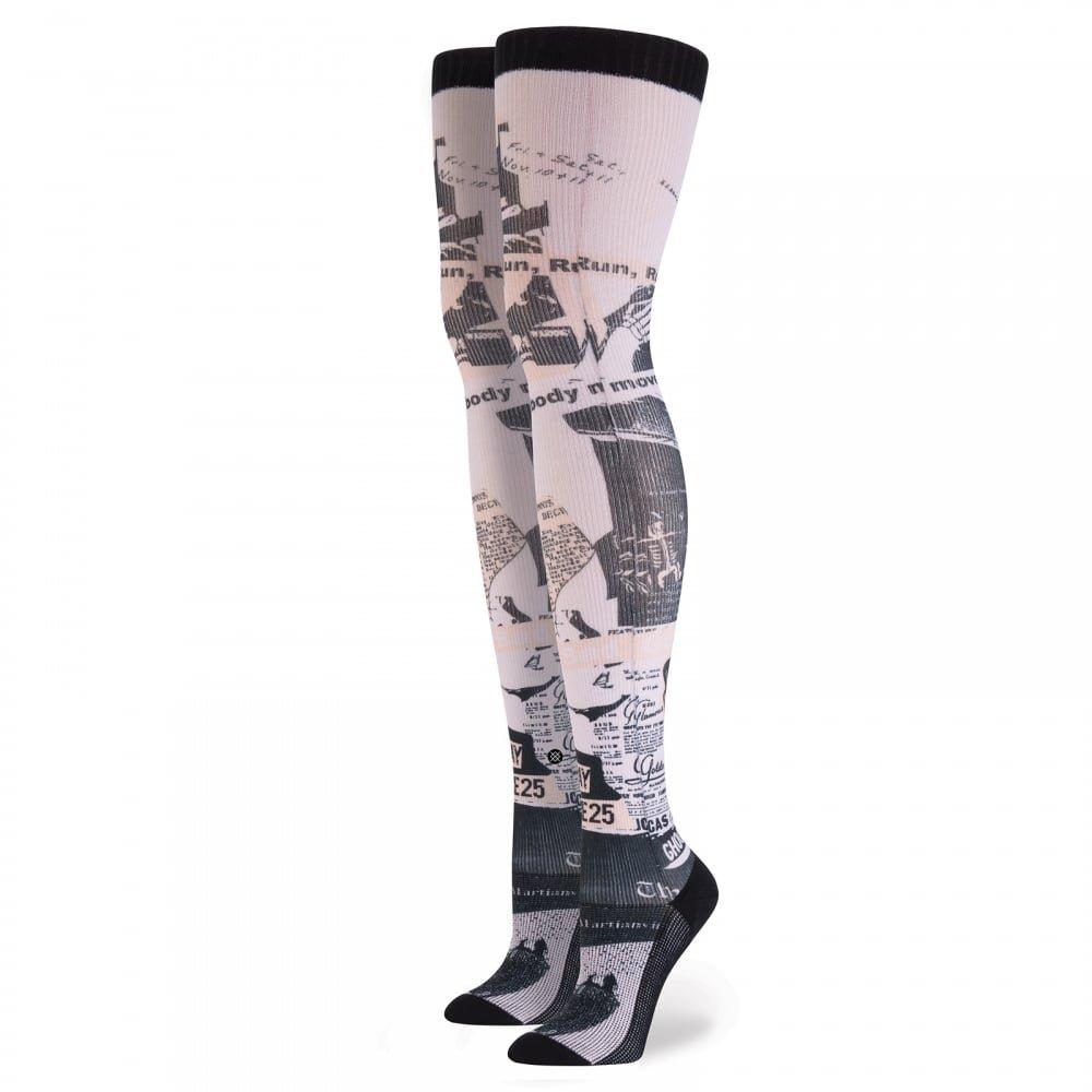 Stance - Calcetines hasta la rodilla - para mujer Rosa rosa Talla única: Amazon.es: Ropa y accesorios