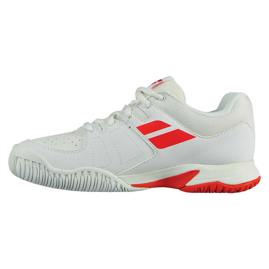 Babolat Pulsion AC Juniors Tennis Shoes White/Red