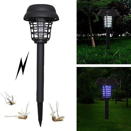 Phayee - Lámpara Solar antimosquitos 2 en 1 para jardín: Amazon.es: Hogar