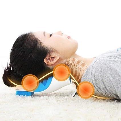 Amazon.com: WensLTD - Almohada de masaje para cuello y ...