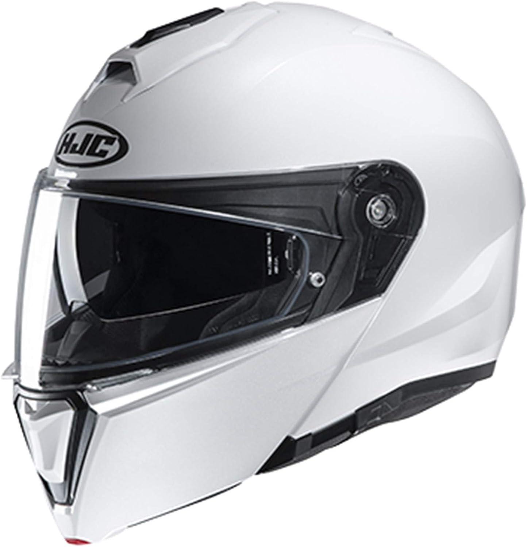 Semi-Flat Black, X-Large HJC Unisex-Adult Flip-Up Helmet