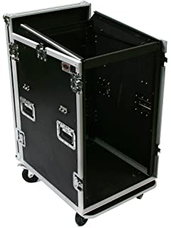 OSP Cases | ATA Road Case | 20-Space Amplifier Rack with 12-Space