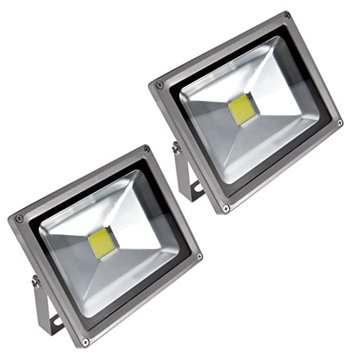Primlight 2pcspack 20w waterproof cool white led flood light primlight 2pcspack 20w waterproof cool white led flood lightoutdoor flood light aloadofball Gallery