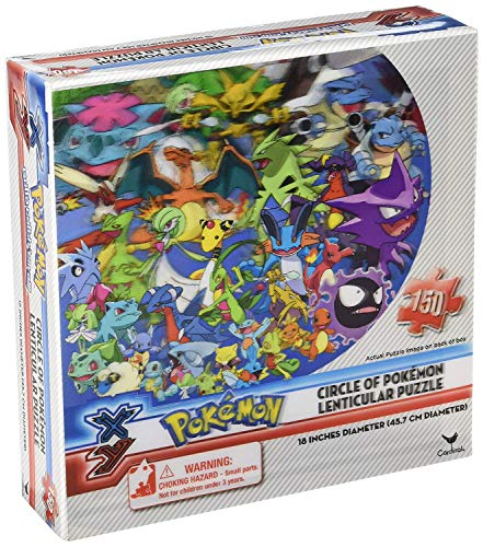 Pokemon Puzzle - Pokémon Lenticular Specialty Circle Puzz