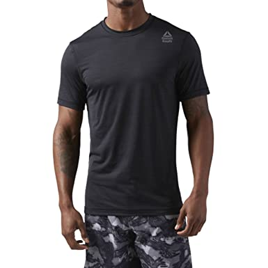 Reebok Crossfit Activchill Vent T-Shirt - SS18 Black  Amazon.co.uk ... e40181cb2f8