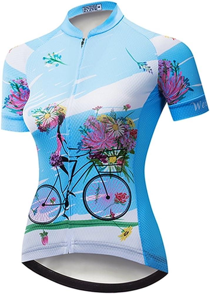 Women/'s Cycling Jersey Clothing Bicycle Sportswear Short Sleeve Bike Shirt  F67