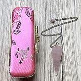 Rose Quartz Pendulum 01 Pink Point Lipstick Case