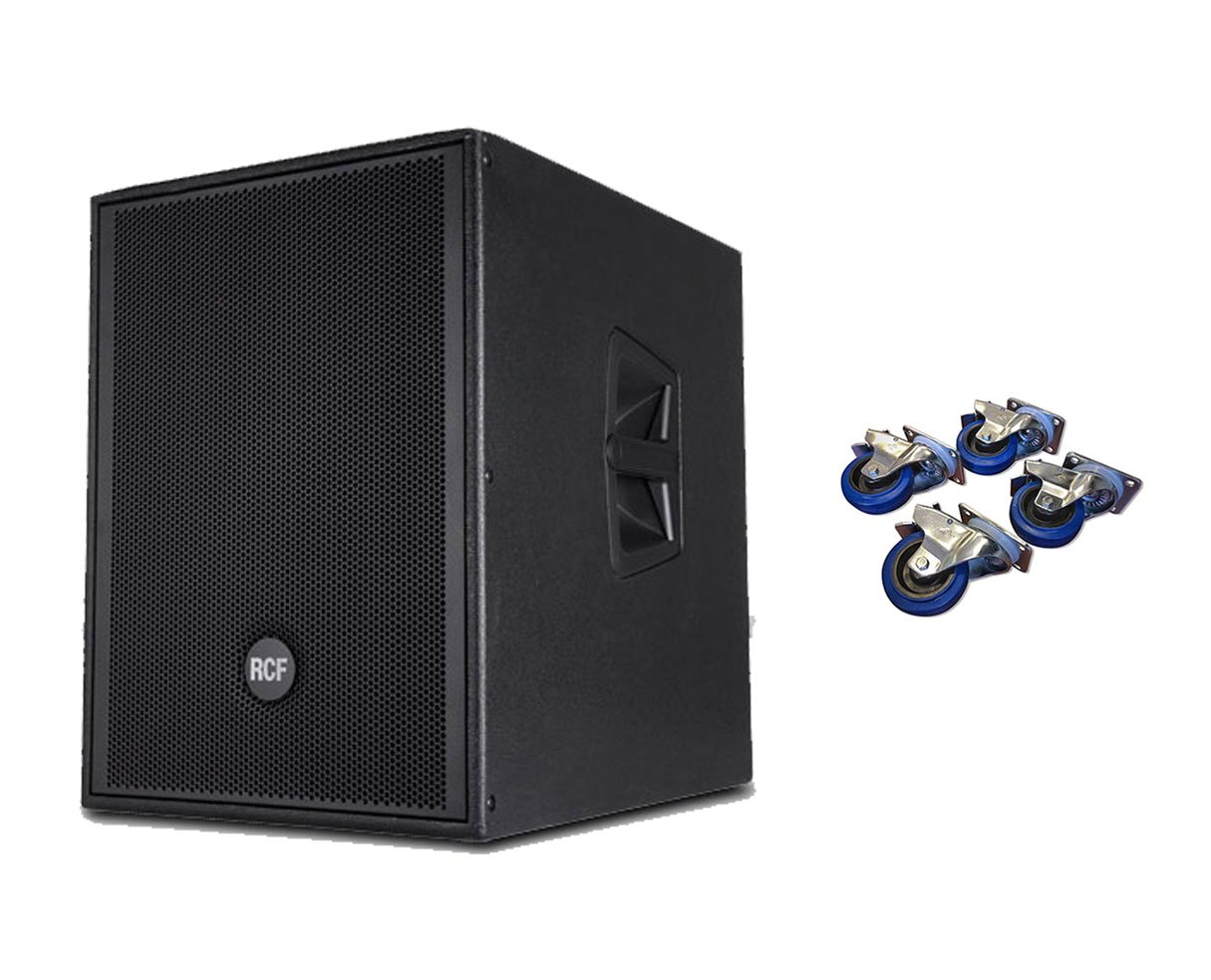 RCF SUB905-AS MKII + Casters 4-Pack