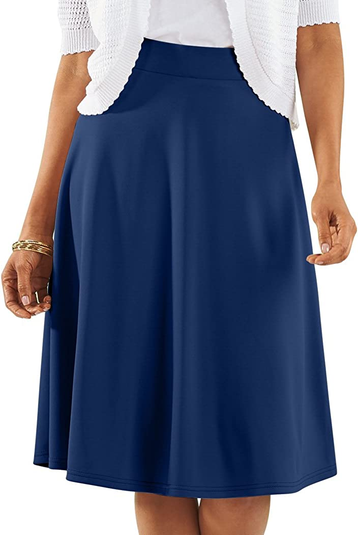 AmeriMark Knit Circle Skirt