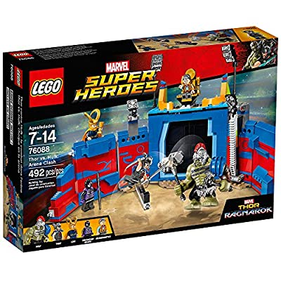 LEGO Super Heroes Thor Vs. Hulk: Arena Clash 76088 Building Kit (492 Piece): Toys & Games