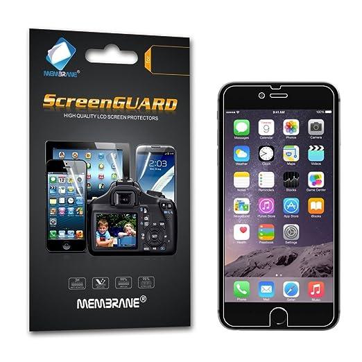 """459 opinioni per 3 x Membrane Pellicola Protettiva Apple iPhone 6 / 6S 2015 (4.7"""")- Trasparente,"""