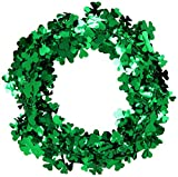 Gleam 'N Flex Shamrock Garland Party Accessory (1 count) (1/Pkg)