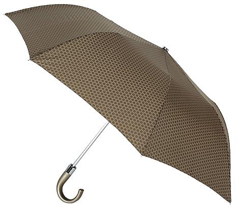 El Discreto y Elegante Estampado Nido de Abeja de Este Paraguas VOGUE le Convierte en una