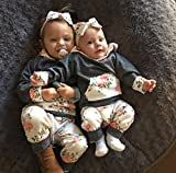 Baby-Girls-Long-Sleeve-Flowers-Hoodie-Tops-and-Pants-Outfit-with-Kangaroo-Pocket-Headband