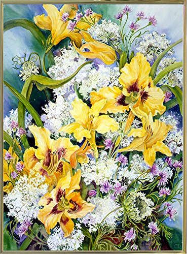 Daylily Plaque - 1