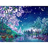 24x34cm Art DIY Diamond Embroidery Cherry Blossom