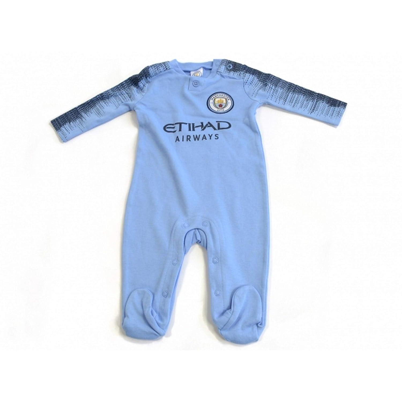 Manchester City F.C.. - Pelele para Dormir - para bebé niño Azul ...