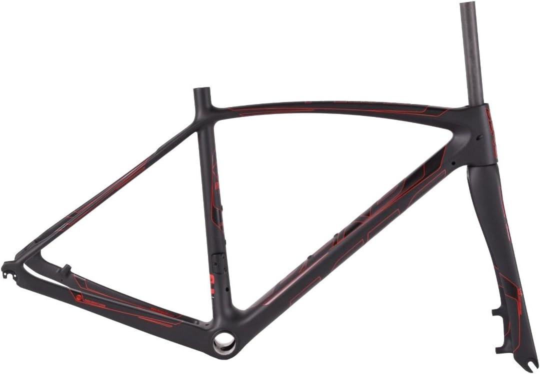 Berg Marco Bicicleta Fuego 95 Disc V2 S BK/Rd_Cy Negro/Rojo: Amazon.es: Deportes y aire libre