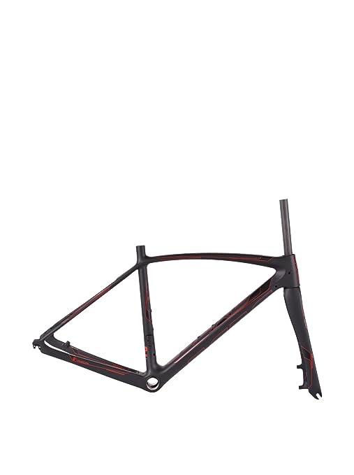 Berg Marco Bicicleta Fuego 95 Disc V2 S BK/Rd_Cy Negro/Rojo ...