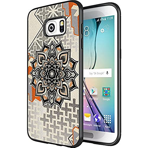 DOO UC(TM) Galaxy S7 Edge Case, Laser Technology for Protective Case for Samsung Galaxy S7 Edge Black Retro Azteca Sales