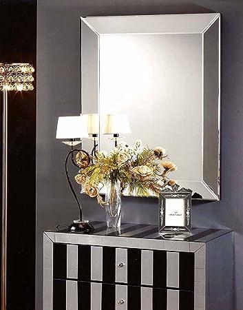 Glasspiegel Roma Size: 95 Cm X 75 Cm