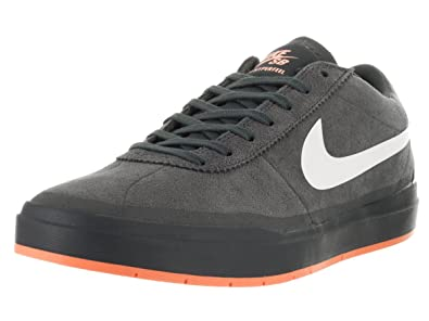 ff32ae635936 Image Unavailable. Nike Men s Bruin SB Hyperfeel XT Anthracite White Clay  Orange Skate Shoe ...