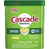 Cascade Dishwasher Detergent Pods, Actionpacs Dishwasher Pods, Lemon Scent, 110 Count
