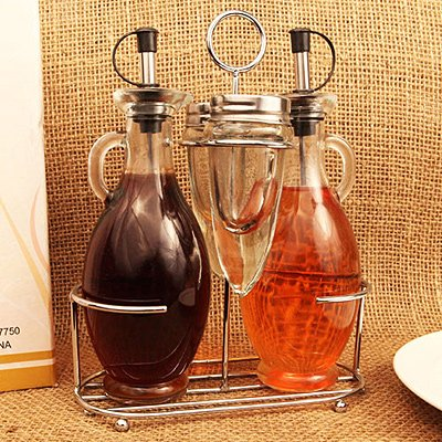 OIL/VINEGAR SALT/PEPPER CRUET SET