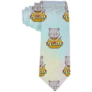 Hombres S Novetly Woven Business Tie Corbata de seda de poliéster ...