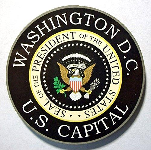 Washington DC U.S. Capital Presidential Seal Artwood Fridge Magnet